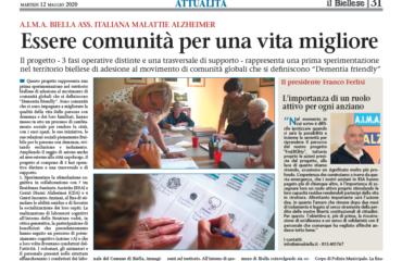 articolo sul progetto frability Il Biellese